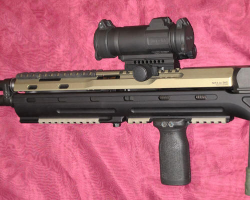 scout and socom 16 scout scopes with Ultimak rails hows this sound