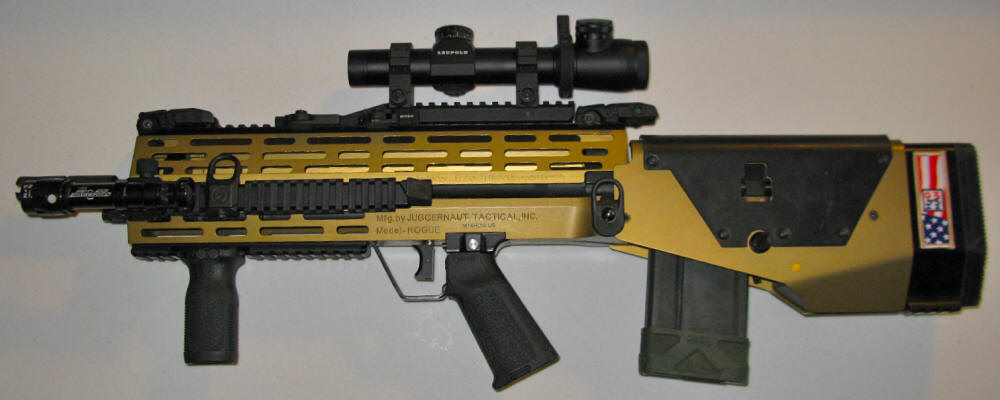 The evolution of H2O's bullpup M14 - Page 2 - WeTheArmed.com M14 Bullpup