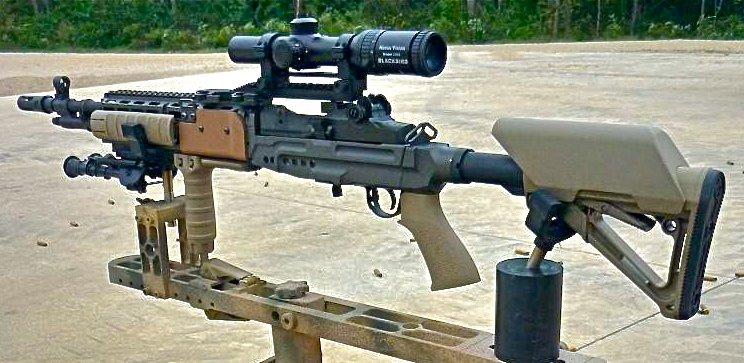 CQB M14  EBR Tactical Aluminum  M14 Ebr Tactical